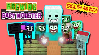 Monster School : BREWING MONSTER KID'S!! (Funny Moment) - Minecraft Animation