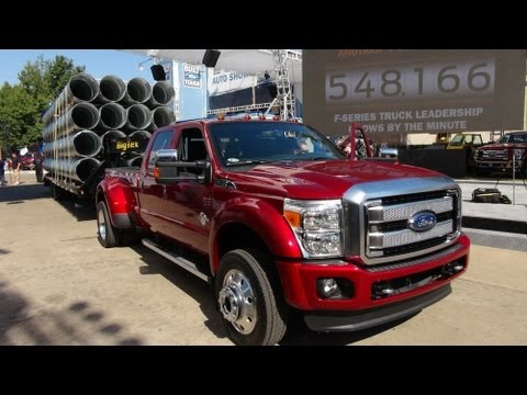 Watch The 2015 Ford F 450 67L Diesel Super Duty Debut At State Fair Of Texas
