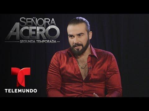 Señora Acero 2 | José Luis Resendez nos habla de Don Teca | Telemundo Novelas