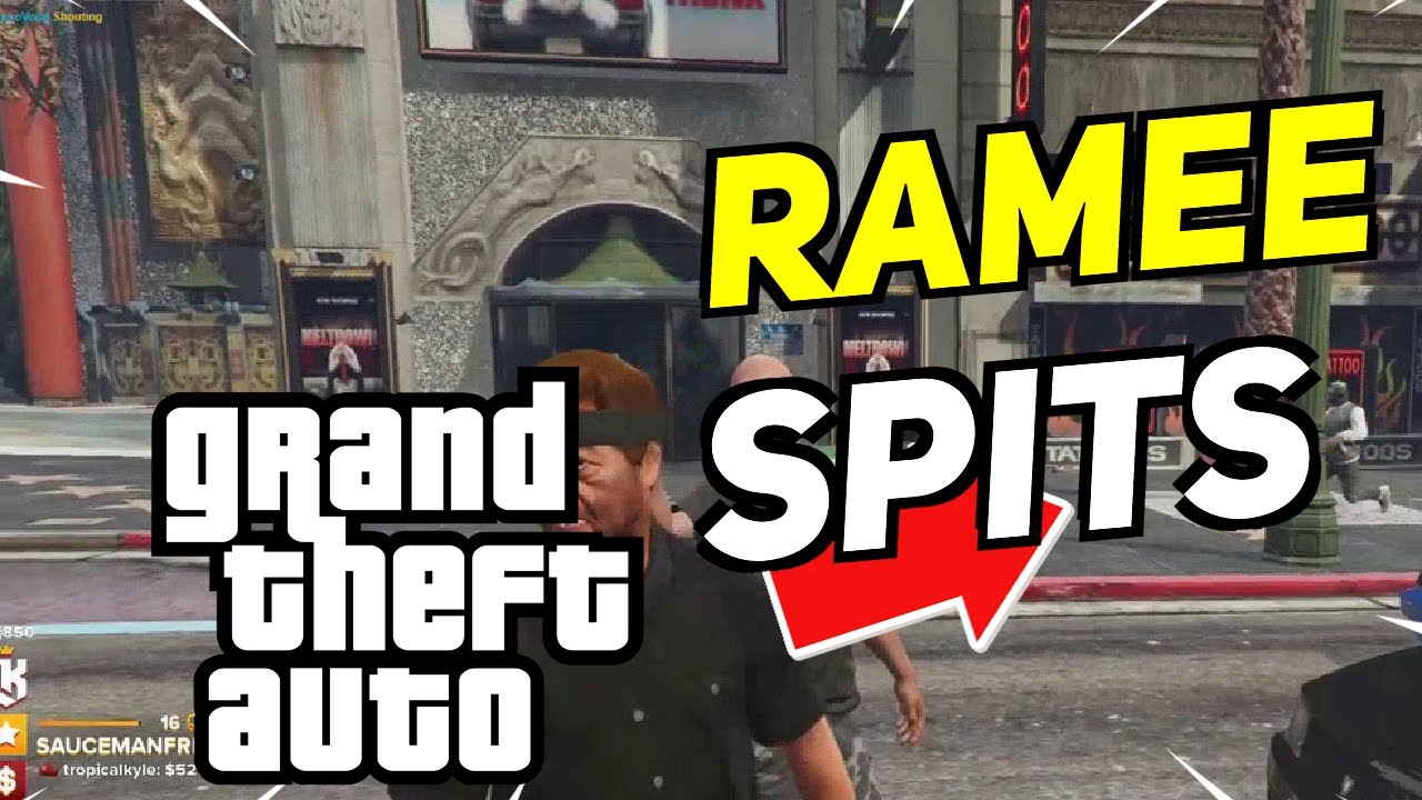 Best Grand Theft Auto RP Moments: RAMEE SPITS ALL OVER CHANG