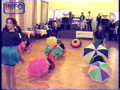 Hostinné 1998 - Předtančení na plese KDU-ČSL