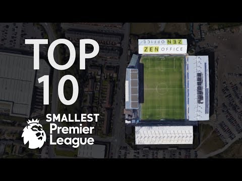 Smallest Stadiums in Premier League History