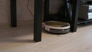 ilife 5x cleaning under small table