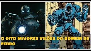 Os 8 vilões mais implacáveis do Homem de Ferro