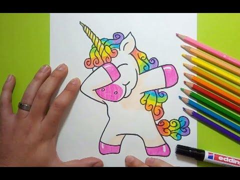 Como Dibujar Un Unicornio Paso A Paso 6 How To Draw A Unicorn 6