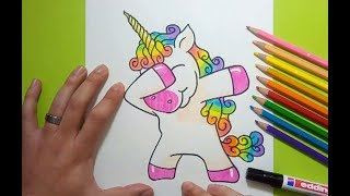 Como Dibujar Un Unicornio Facil  SEONegativocom