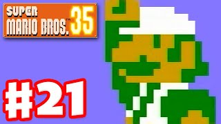 Super Mario Bros. 35 - Gameplay Part 21 - Luigi!