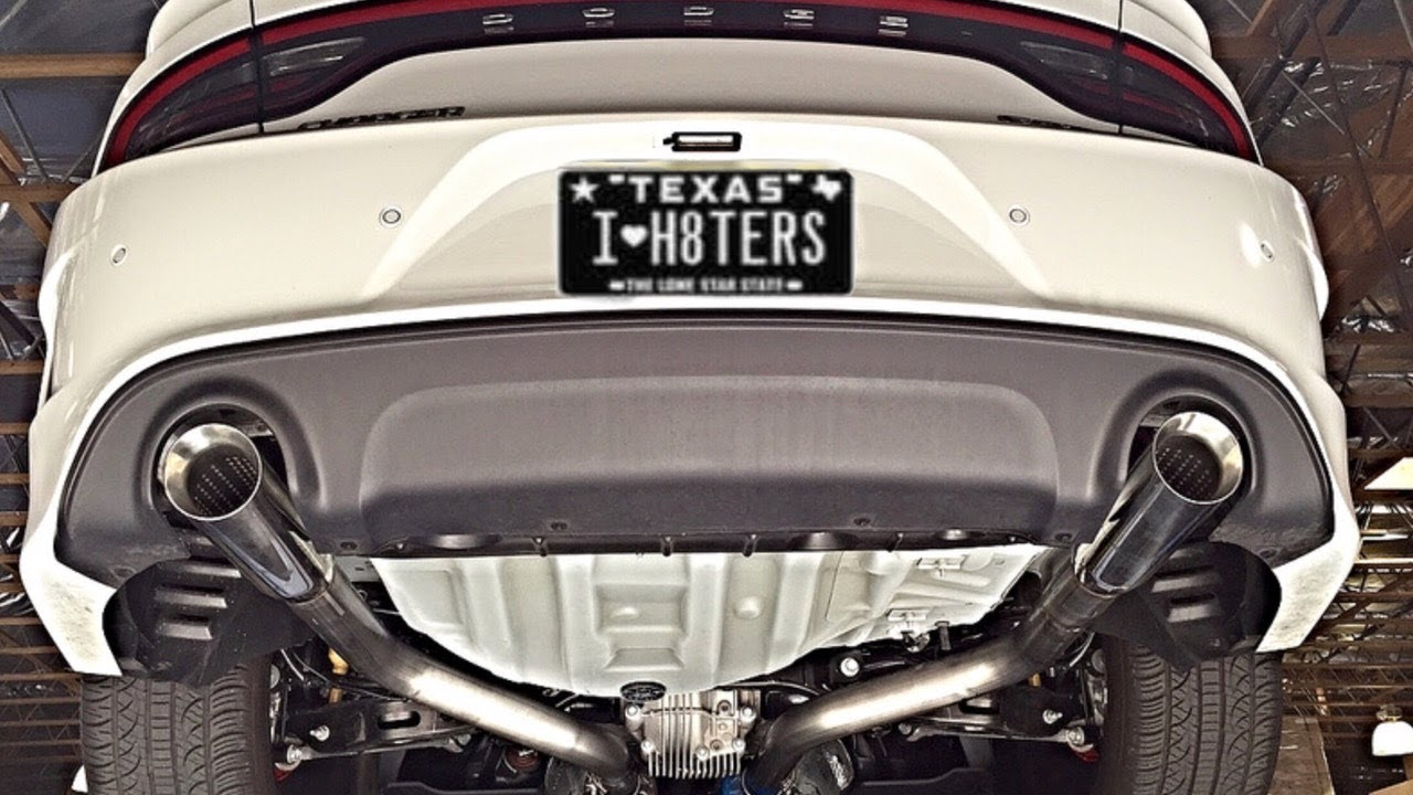 what s the best exhaust for a v6 dodge charger
