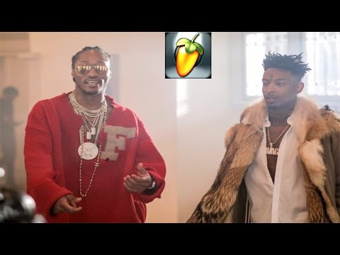 21 Savage & Metro Boomin - X ft Future FL Studio FLP Instrumental Pt 1