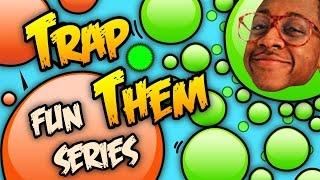 Agar.io Fun Series | Trap Them!