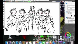 Monster Drawing Time Lapse
