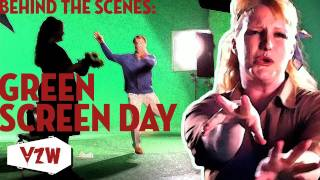 Behind the Scenes: Green Screen Day (Vampire Zombie Werewolf)