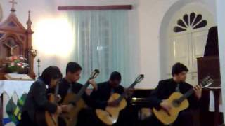 Quarteto de Violões da Fames - Baião Cigano de Nonato Luis.