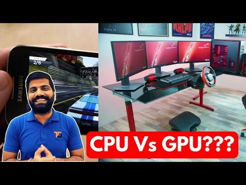 CPU vs GPU? Graphics Processing Unit...What