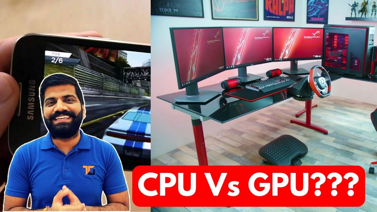 Download CPU vs GPU? Graphics Processing Unit...What's the Deal?