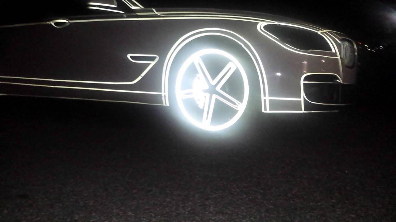Carbon Wraps White Reflective Bmw Youtube