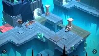 Lara Croft GO Walkthrough The Cave Of Fire - Level 8 - A Crystal Cavern