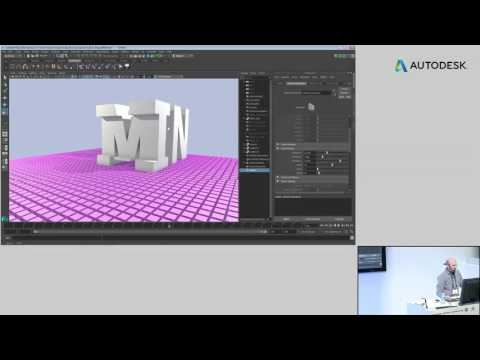 NAB 2016: Maya for Motion Graphics