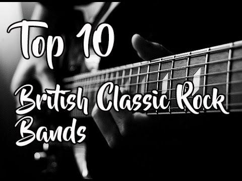 Top 10: British Classic Rock Bands