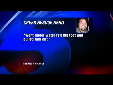 Man Unknowingly Rescues Friend From Drowning
