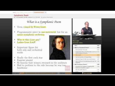 Music History: Symphonic Poem