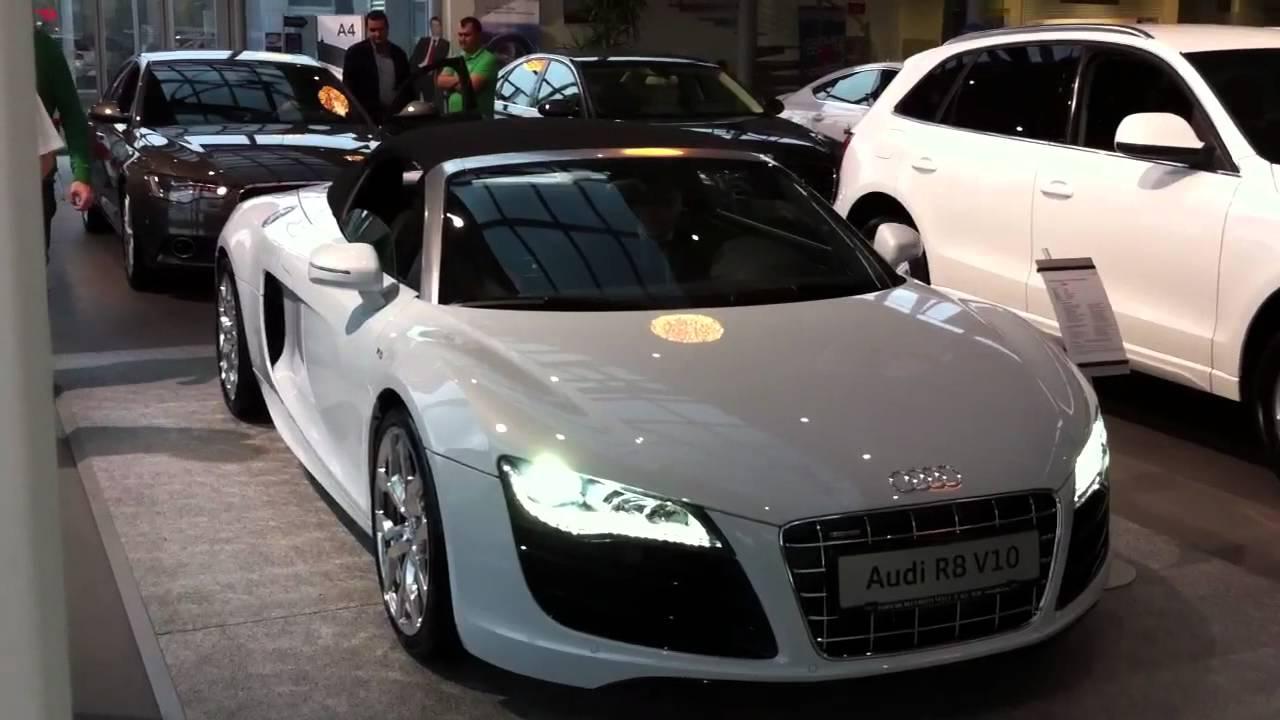 Audi R8 Spyder Porsche Bucuresti Vest 2 Youtube