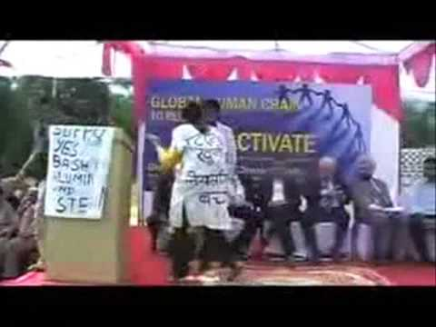 Jharkhand Forum - Protest against Golden Peacock Award to Vedanta Alumina Ltd