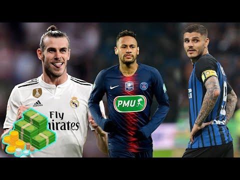 MADRID PONE PRECIO a BALE - 'MADRID va por NEYMAR' The Times - ULTIMATUM de ICARDI al INTER - 동영상