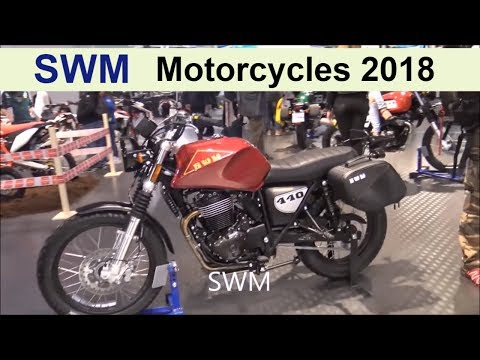 The SWM 2018 Motorcycles