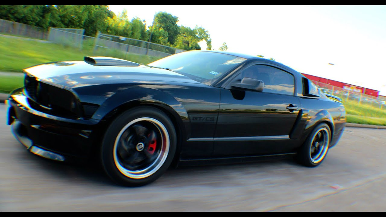 2007 Ford Mustang Gt California Special Awakening The Beast