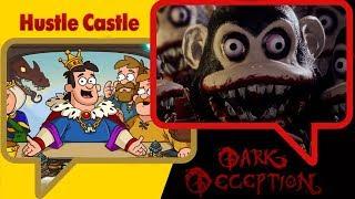 DARK DECEPTION VS HUSTLE CASTLE ⭐️ Terror & Diversión