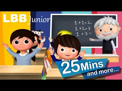 Going Back To School Today | And Lots More Original Songs | From LBB Junior!