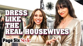 RHONJ's Melissa Gorga on How To Dress Like Real Housewives on a Budget | Page Six Style