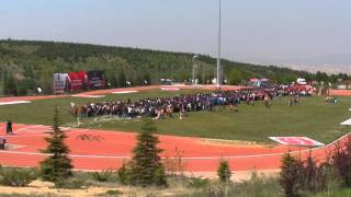 Hacettepe university largest human dna helix guinness world record