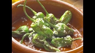 Spanish Roulette with Padrón Peppers