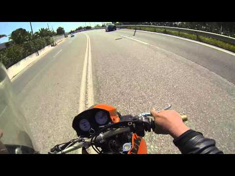 KTM DUKE II Sunday Ride Part1