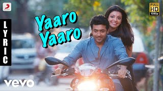 Maattrraan Yaaro Yaaro Tamil Lyric | Suriya, Kajal | Harris Jayaraj