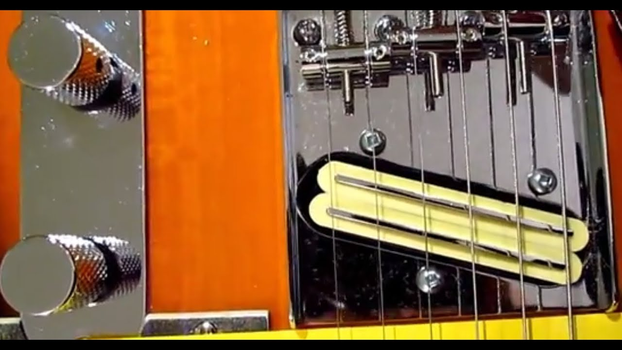 Artec Dual Rail Pickup Doesnt The Telecaster E Strings Youtube Hot Humbucker Neck 4 Wire For Electric Guitarin