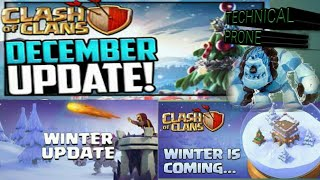 Coc upcoming december 2018/2019 updates || clash of clans - in hindi || Christmas updates and events