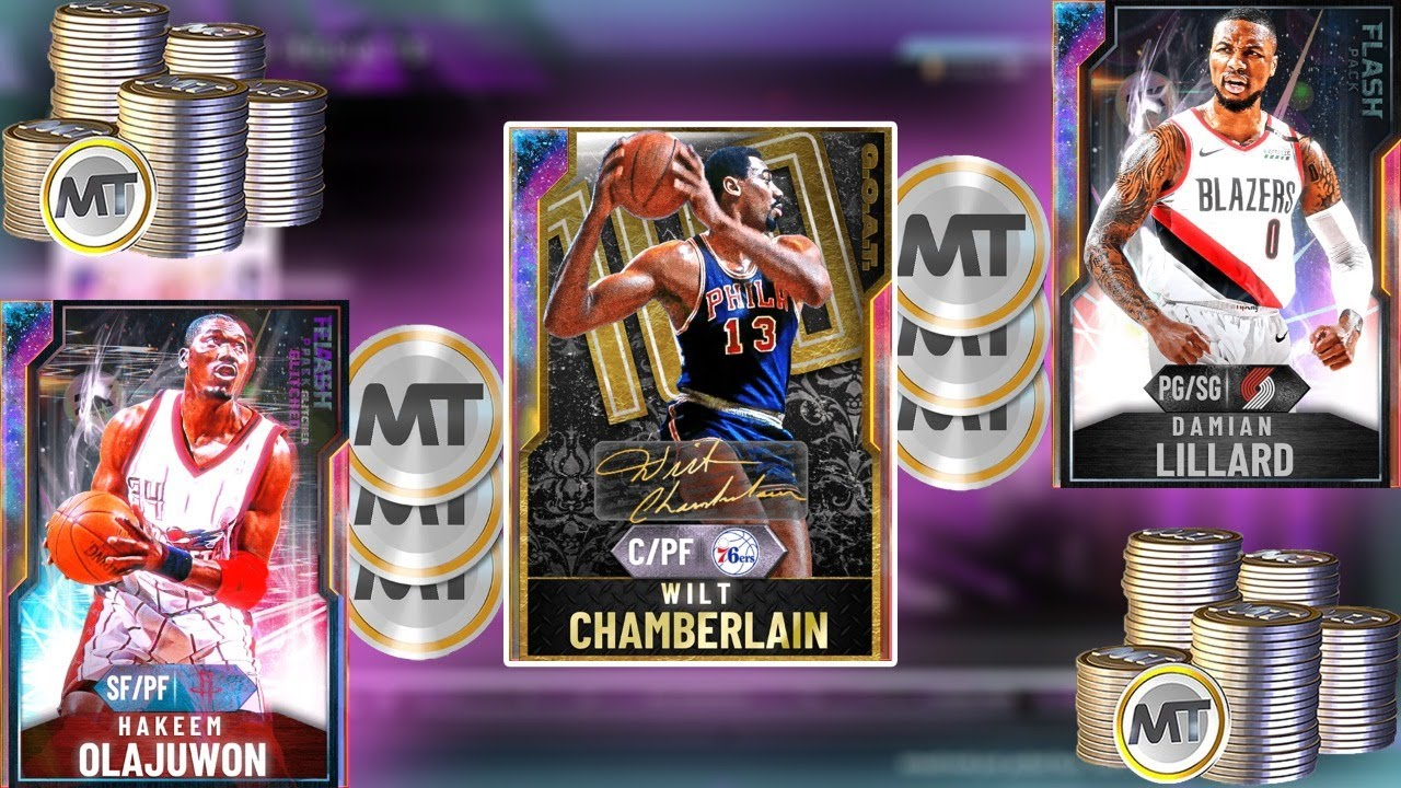 NBA2K20 NEW GOAT WILT + FLASH DAME & MORE! SNIPING NEW GALAXY OPALS FOR MILLIONS OF MT!