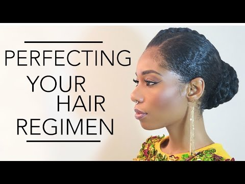 How To Perfect Your Natural Hair Regimen