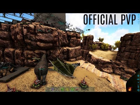 ASCENDANT SADDLES and Free C4!  - Official PVP (E34) - ARK Survival Evolved Gameplay