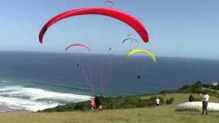 Paragliding Southafrica Map of Africa 2015