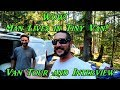 Wow! Man Lives in Tiny Van!  Van Tour and Interview
