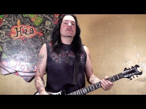 """PRONG """"Beg To Differ"""" guitar lesson for PlayThisRiff.com"""