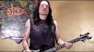 "PRONG ""Beg To Differ"" guitar lesson for PlayThisRiff.com"