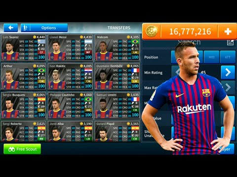 How To Hack FC Barcelona Team 2018-19 ● All Players 100 ● Dream League Soccer 2019 - NEW UPDATE