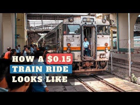 Yangon Circular Railway: a life changing experience