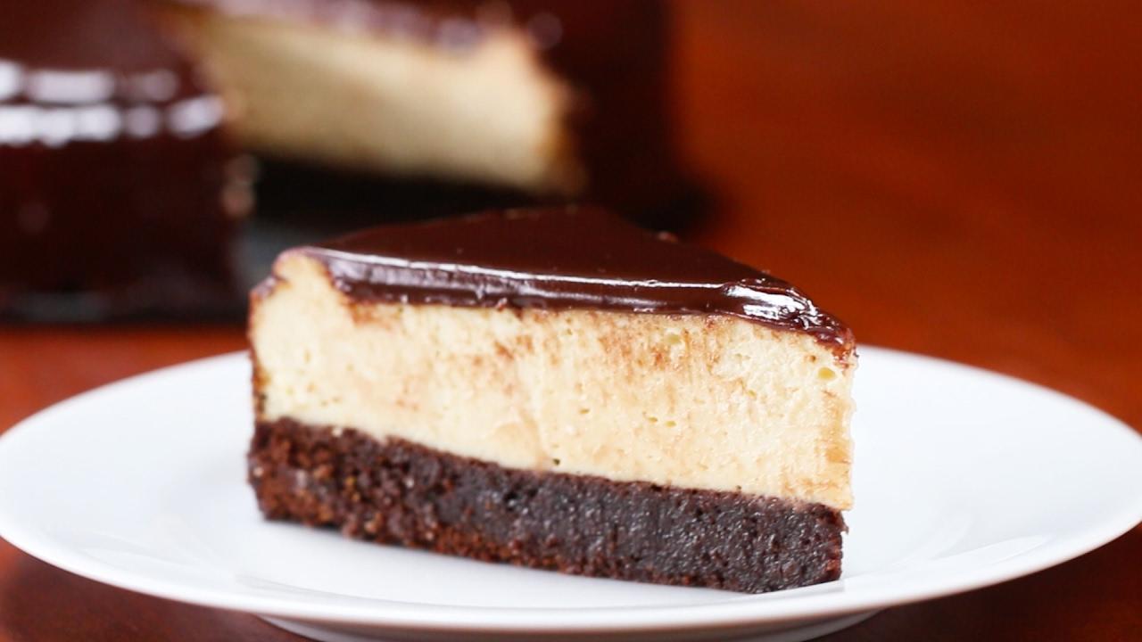 Cream Cheese And Brownie Cake