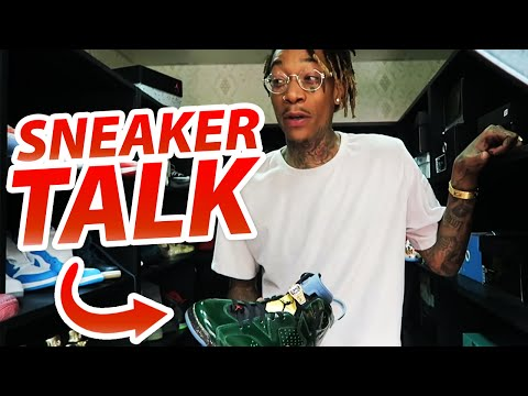 Sneaker Talk With Wiz Khalifa